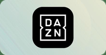 Логотип DAZN.