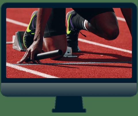 Olympiska sändningar på Peacock TV.