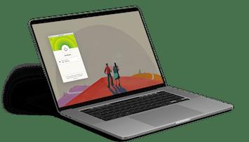 The ExpressVPN app for Mac (mobile version)