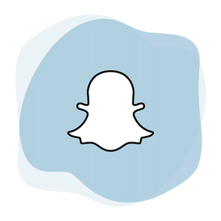 Snapchat VPN: The Snapchat logo.