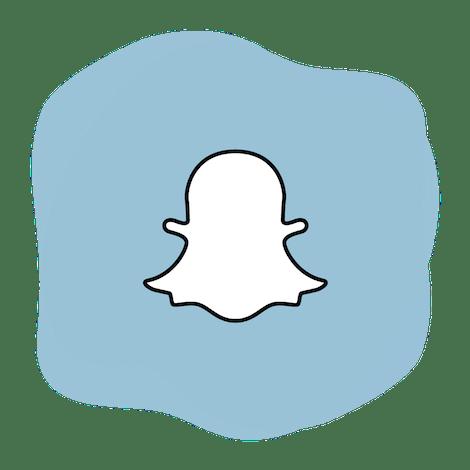 Snapchat VPN: The Snapchat logo.