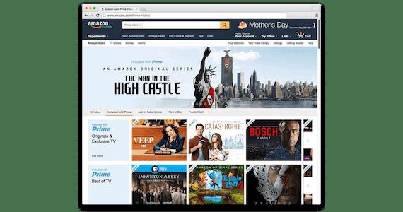 Assista a títulos exclusivos da Amazon Prime com ExpressVPN.