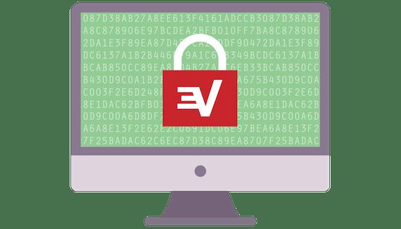 VPNを使って接続を暗号化。