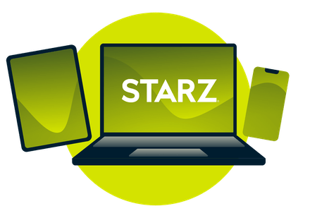 Stream Starz on all your devices.
