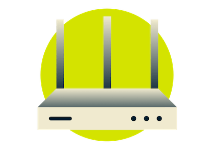 ExpressVPN has easy setup on your home router.