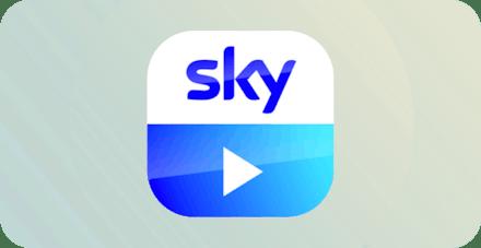 Sky Go-logotyp.