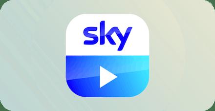Sky Go logo.