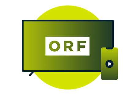 Stream ORF on TV and mobile devices.