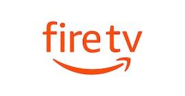 Amazon Fire TV logo.