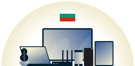 Bulgaria VPN protecting a variety of devices.