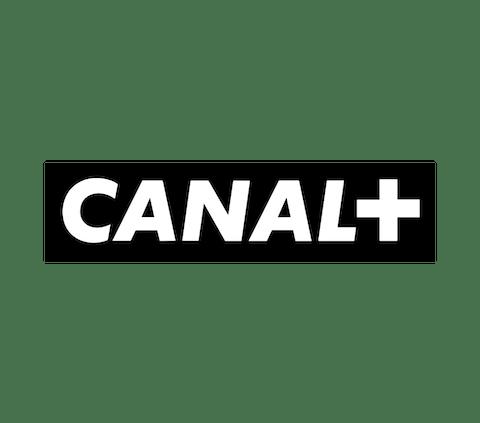Canal Plus logo.