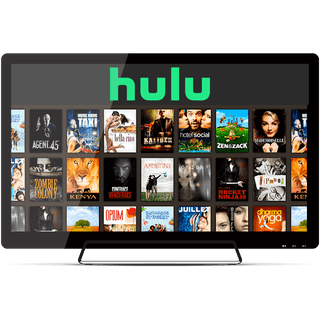 Watch Hulu on a TV.