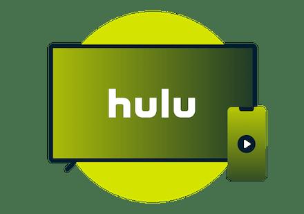 Se Hulu på et tv.
