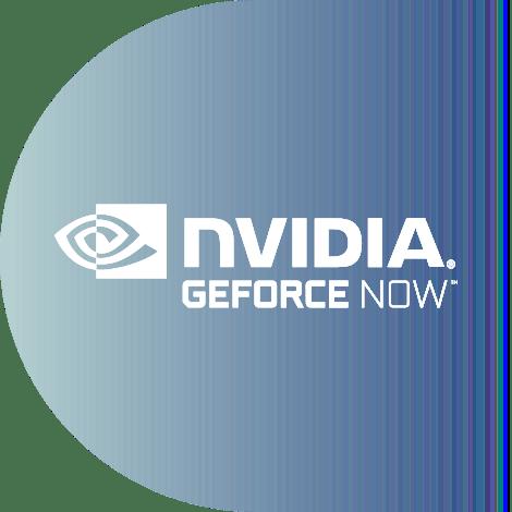Nvidia GeForce Now logo.