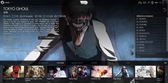 guarda film e anime popolari gratuitamente su VVVVID con una vpn