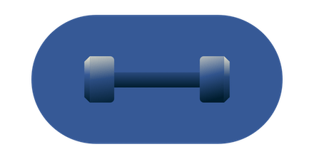 In-office fitness employee benefit.