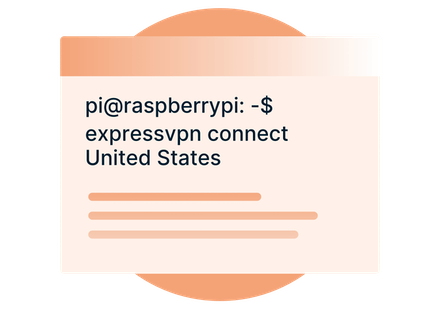Step 1 of connecting a VPN on Raspberry PI.