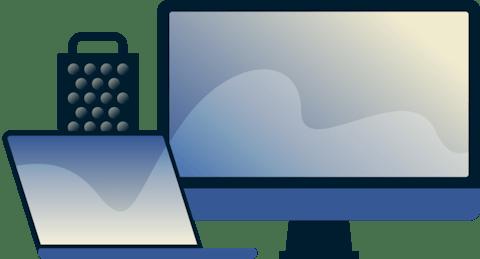 MacBook, iMac ve Mac Pro modelleri.