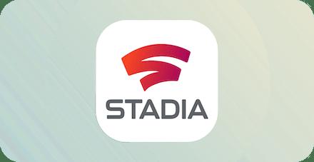 Лого Google Stadia.
