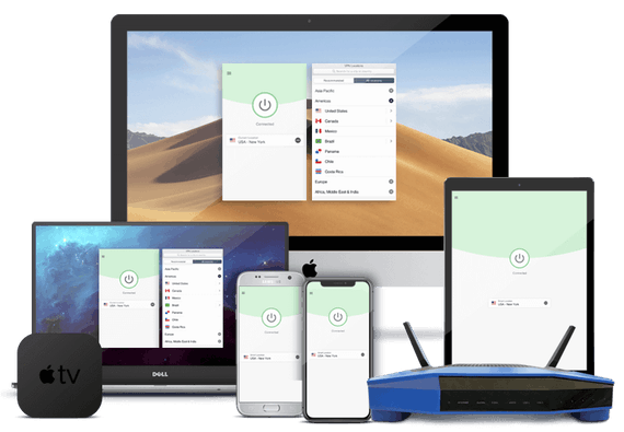 VPN para Windows, Mac, iPhone, iPad, iPod, Android y routers.