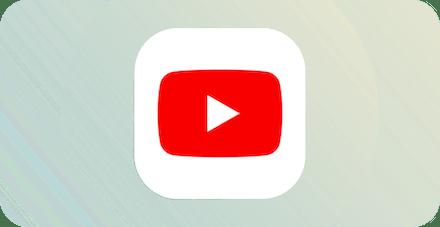 YouTubeロゴ。