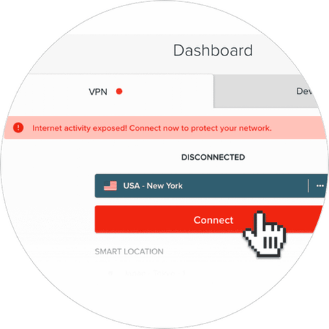 ExpressVPN app for routers: app UI