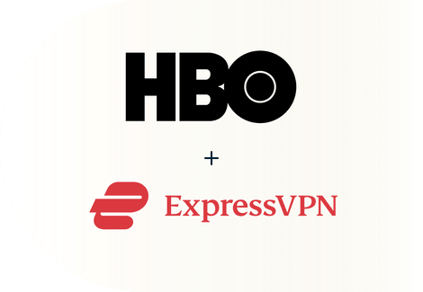 HBO + ExpressVPN logos