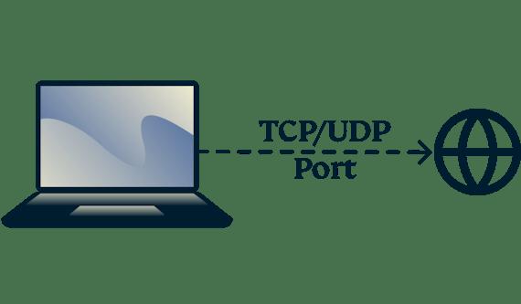Comment rechercher les ports TCP et UDP