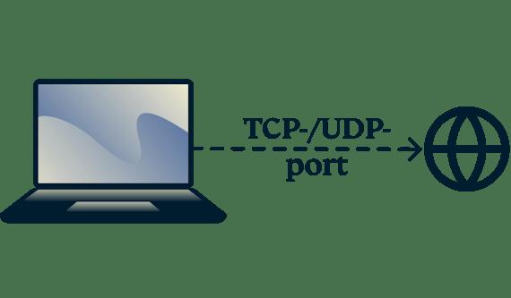 Hur du kollar TCP- och UDP-portar