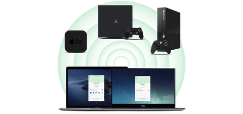 Apple TV、PlayStationPlayStation、XboxでVPN接続を共有するために仮想ルーターとしてコンピュータを使用