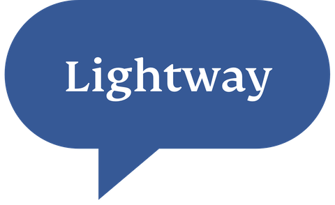 Speech bubble with Lightway protocol.