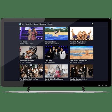 Besøk ITV.com med ExpressVPN og strøm ITV direkte fra hvor som helst.