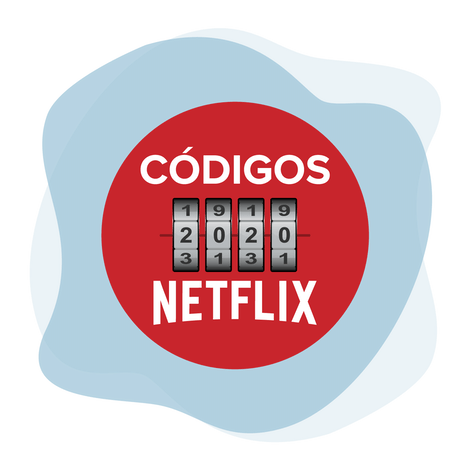 Netflix codes with number lock.