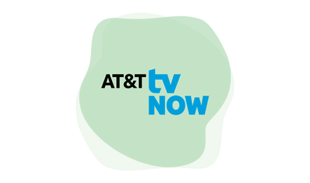 AT&T TV Now logo.