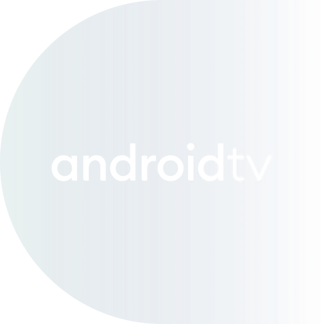 Android TV logo.