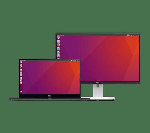Computer portatili e desktop che eseguono ExpressVPN per Linux.