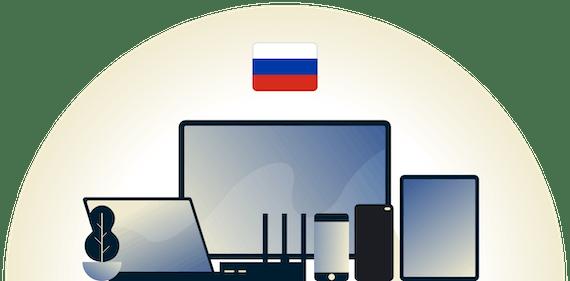 VPN dla Rosji chroniący różne urządzenia.