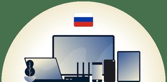 Çeşitli cihazları koruyan Rusya VPN