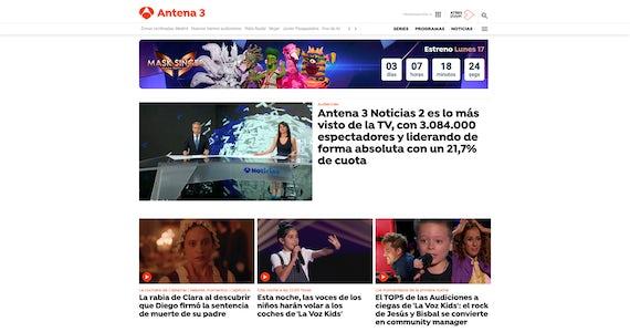 Antena 3 Screenshot