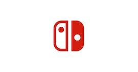 Nintendo Switch logo.