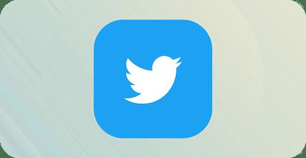 Логотип Твиттер.
