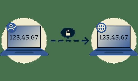 Połączenie internetowe z jawnym IP
