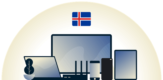 Iceland VPN protecting a variety of devices.