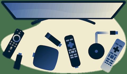 Wszystkie urządzenia Android TV.