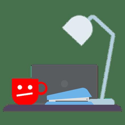 YouTube blocked at work.