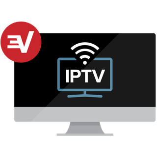 IPTV on a computer monitor.