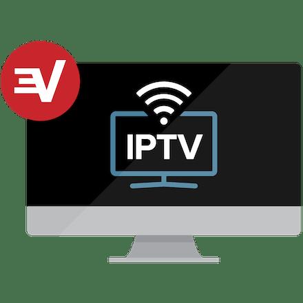 コンピュータモニター上のIPTV