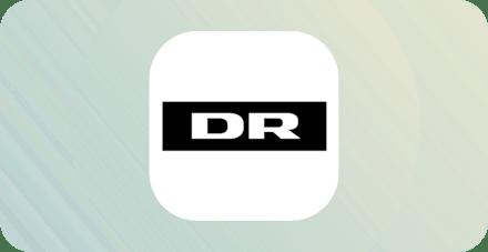 DR TV Danish streaming logo.
