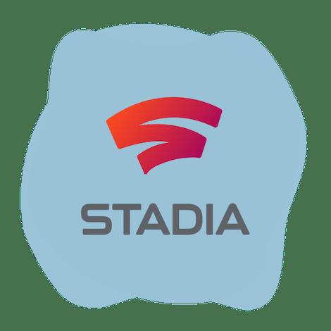 Google Stadia logosu.