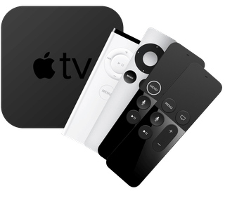 All Apple TV generations with remotes